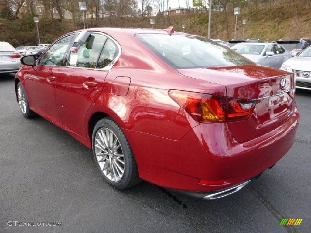 2014 riviera red lexus gs 350 awd 87999069 photo 2 car color galleries. Black Bedroom Furniture Sets. Home Design Ideas
