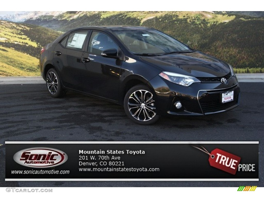 2014 toyota corolla s black images galleries with a bite. Black Bedroom Furniture Sets. Home Design Ideas