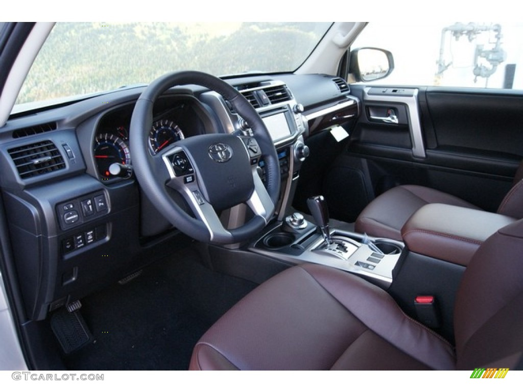 4 runner limited with redwood interior autos post. Black Bedroom Furniture Sets. Home Design Ideas