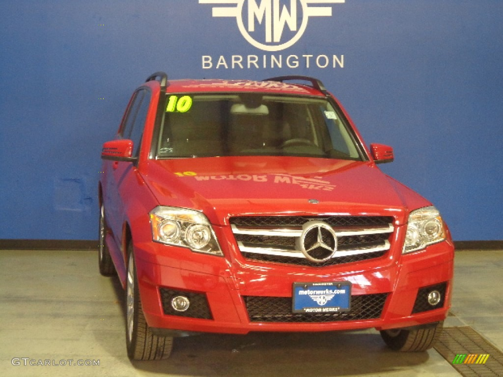 2010 Mars Red Mercedes Benz Glk 350 4matic 87998882