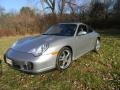 2004 GT Silver Metallic Porsche 911 Carrera 40th Anniversary Edition Coupe #88024392