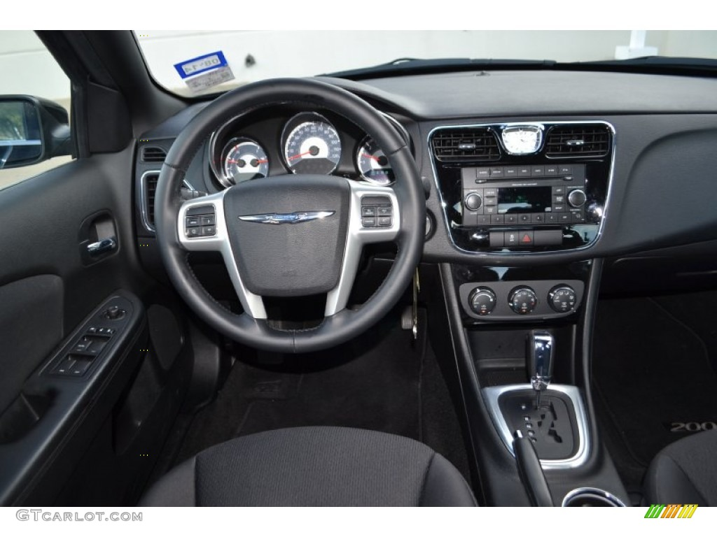 2013 chrysler 200 touring sedan dashboard photos. Black Bedroom Furniture Sets. Home Design Ideas