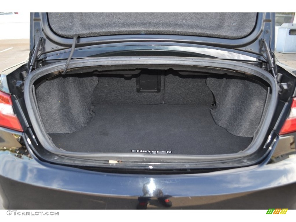 2013 chrysler 200 touring sedan trunk photos. Black Bedroom Furniture Sets. Home Design Ideas