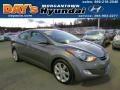 Titanium Gray Metallic 2011 Hyundai Elantra Limited