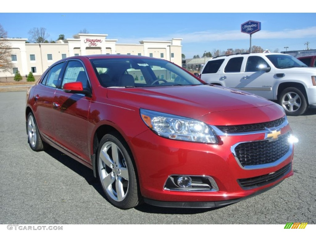 2014 crystal red tintcoat chevrolet malibu ltz 88059659 car color galleries. Black Bedroom Furniture Sets. Home Design Ideas