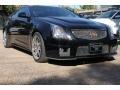 Black Diamond Tricoat 2012 Cadillac CTS -V Coupe