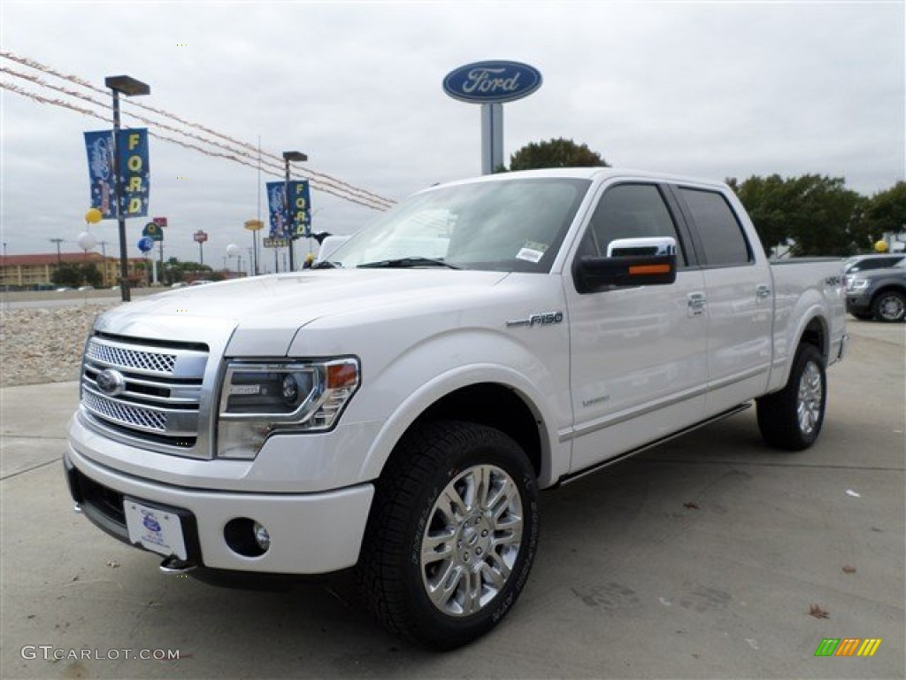 2014 F150 Platinum >> 2014 White Platinum Ford F150 Platinum Supercrew 4x4 88103715