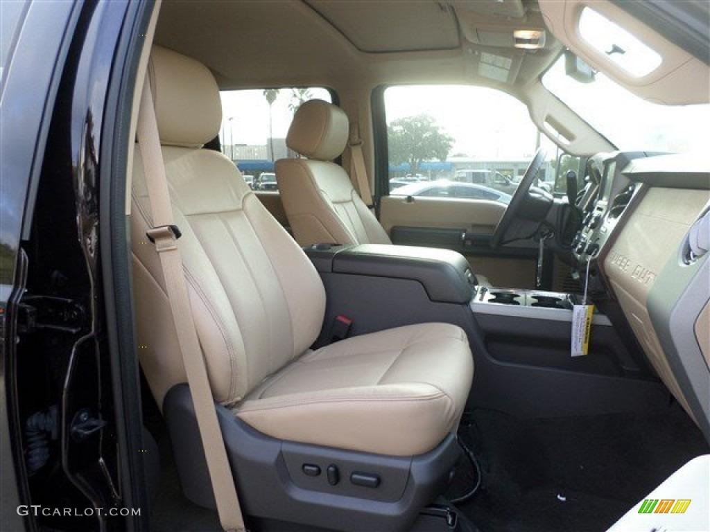 2014 Ford F250 Super Duty Lariat Crew Cab 4x4 - Kodiak Brown Metallic