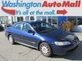 2002 Eternal Blue Pearl Honda Accord LX Sedan  photo #1