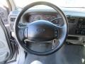 2002 Ford F250 Super Duty Medium Flint Interior Steering Wheel Photo