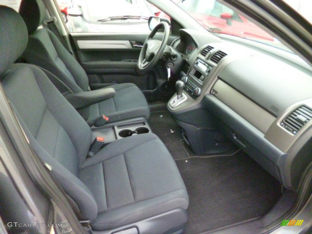 2011 CR-V LX 4WD - Polished Metal Metallic / Black photo #9