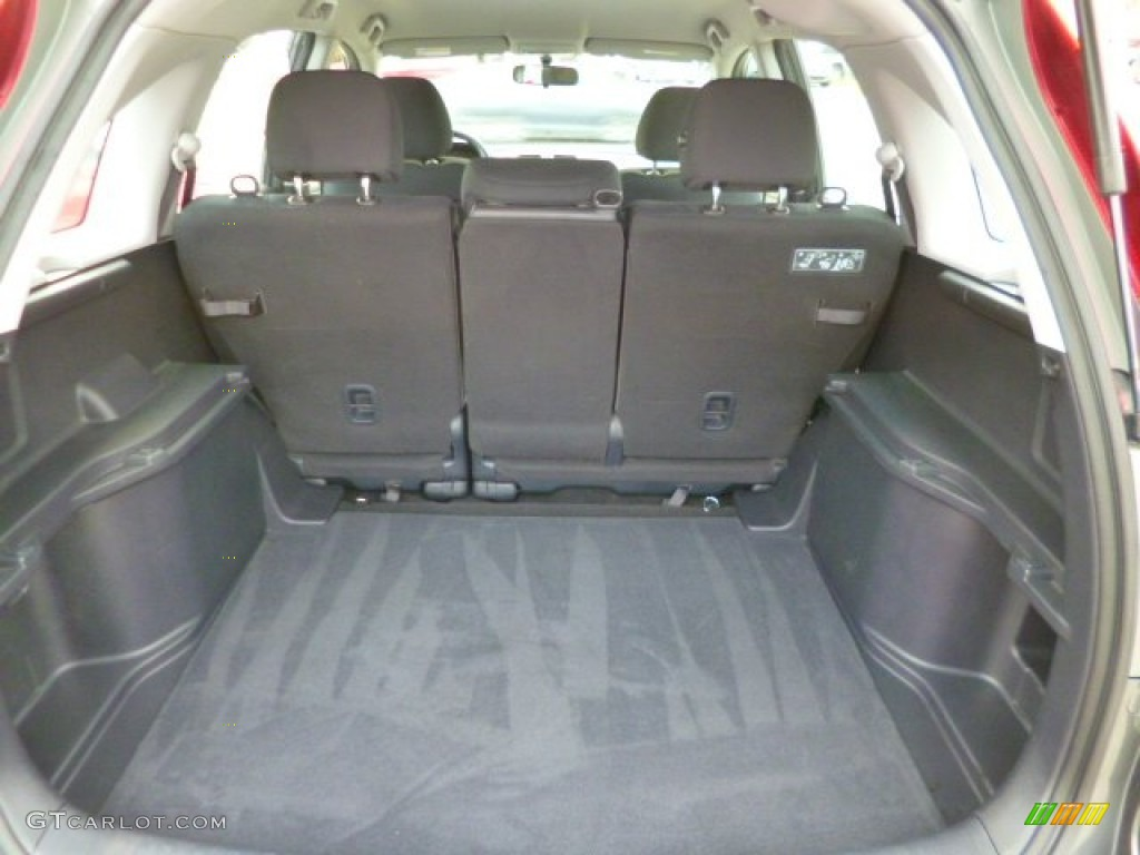 2011 CR-V LX 4WD - Polished Metal Metallic / Black photo #12