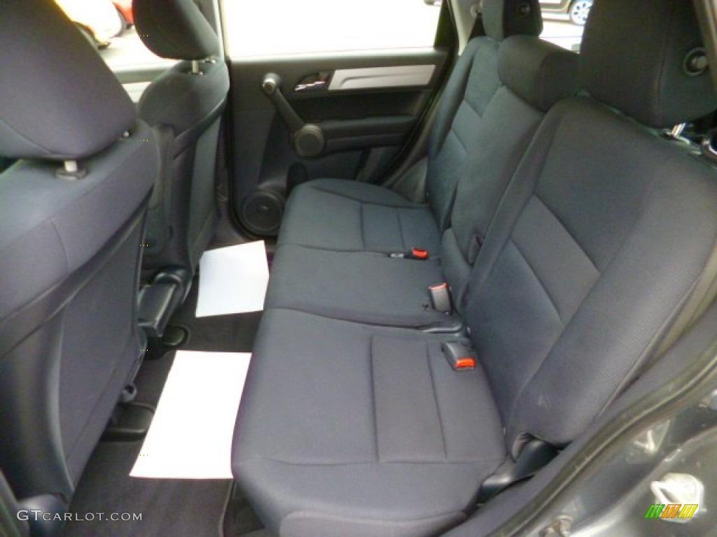 2011 CR-V LX 4WD - Polished Metal Metallic / Black photo #13