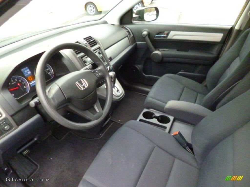 2011 CR-V LX 4WD - Polished Metal Metallic / Black photo #16
