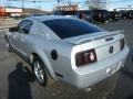 2005 Satin Silver Metallic Ford Mustang V6 Premium Coupe  photo #3