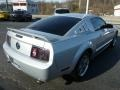 2005 Satin Silver Metallic Ford Mustang V6 Premium Coupe  photo #5