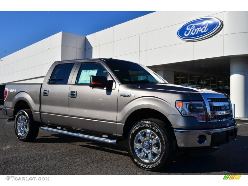 2014 sterling grey ford f150 xlt supercrew 4x4 88104000 car color galleries. Black Bedroom Furniture Sets. Home Design Ideas