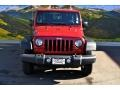2012 Flame Red Jeep Wrangler Sport 4x4  photo #4