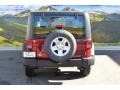 2012 Flame Red Jeep Wrangler Sport 4x4  photo #8