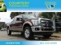 2012 Autumn Red Metallic Ford F250 Super Duty Lariat Crew Cab 4x4 #88103797