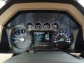 2012 Autumn Red Metallic Ford F250 Super Duty Lariat Crew Cab 4x4  photo #16