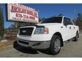 Oxford White 2006 Ford F150 XLT SuperCrew