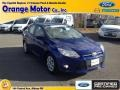2012 Blue Candy Metallic Ford Focus SE Sedan #88104119