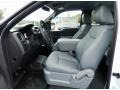 Steel Grey 2014 Ford F150 Interiors
