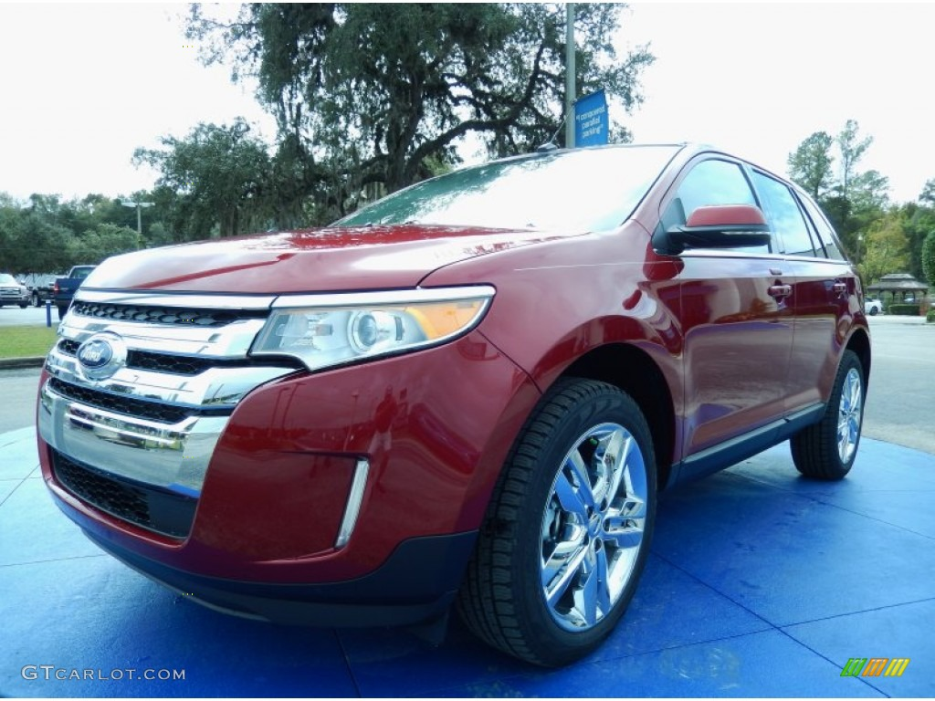 ruby red 2013 ford edge limited exterior photo 88197340. Black Bedroom Furniture Sets. Home Design Ideas