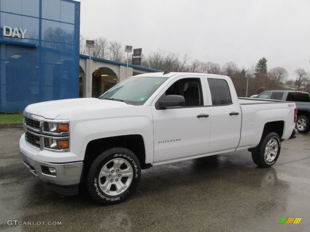 2014 summit white chevrolet silverado 1500 ltz z71 double cab 4x4 88192461 car. Black Bedroom Furniture Sets. Home Design Ideas