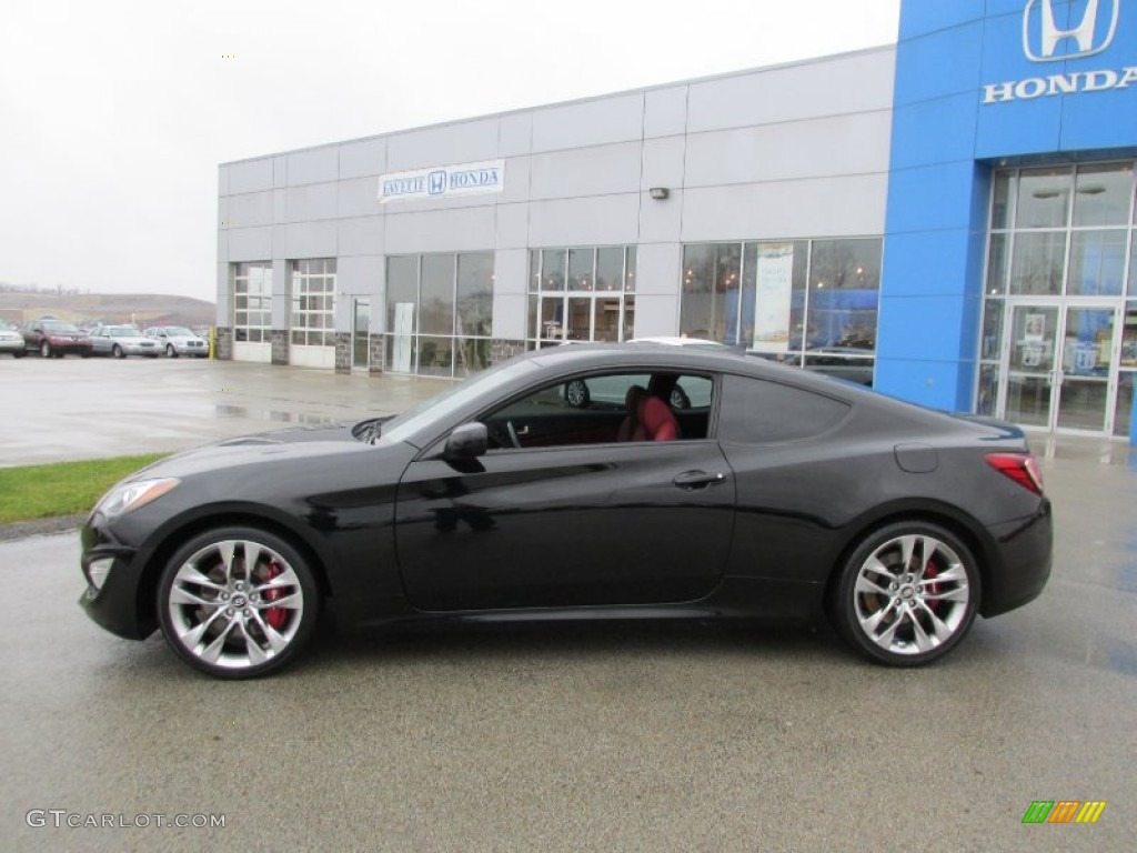 2013 genesis coupe 3 8 r spec becketts black red leather red cloth