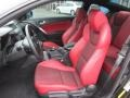 Red Leather/Red Cloth Interior Photo for 2013 Hyundai Genesis Coupe #88216302