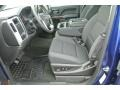 Jet Black Front Seat Photo for 2014 GMC Sierra 1500 #88226346