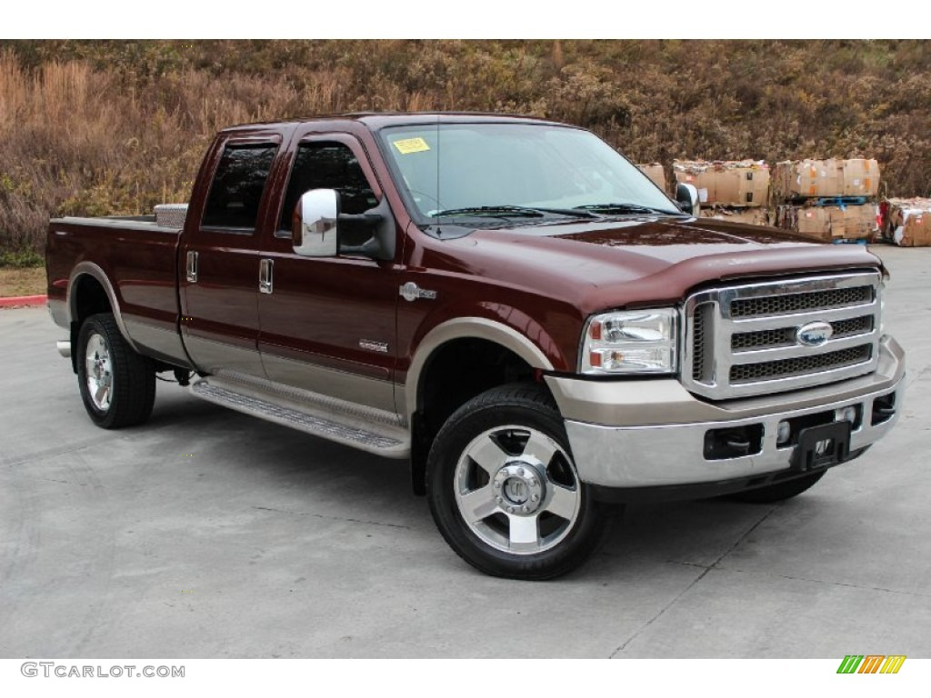 2006 dark copper metallic ford f350 super duty king ranch. Black Bedroom Furniture Sets. Home Design Ideas