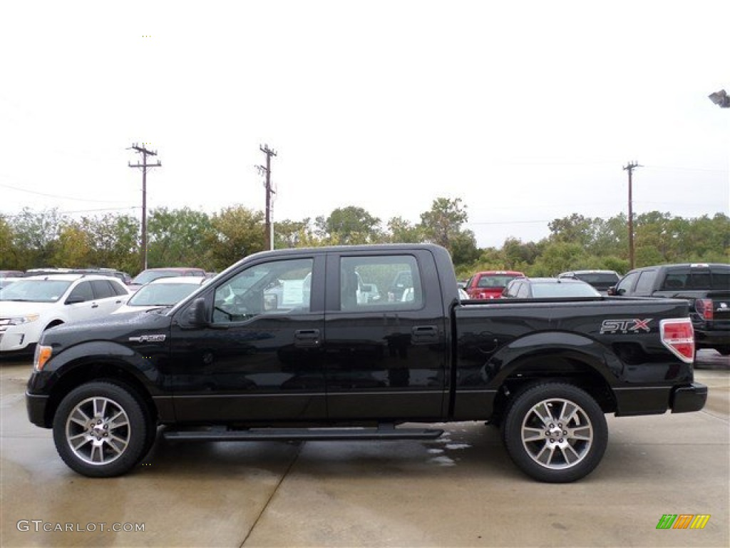tuxedo black 2014 ford f150 stx supercrew exterior photo 88238322. Black Bedroom Furniture Sets. Home Design Ideas