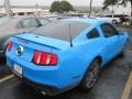 2011 Grabber Blue Ford Mustang GT Coupe  photo #4