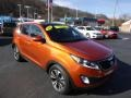 Front 3/4 View of 2011 Sportage SX AWD
