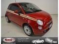 Rosso Brillante (Red) 2012 Fiat 500 Pop