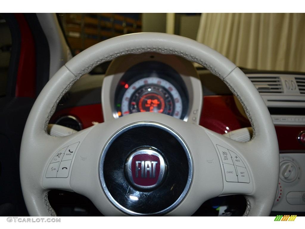2012 Fiat 500 Pop Steering Wheel Photos