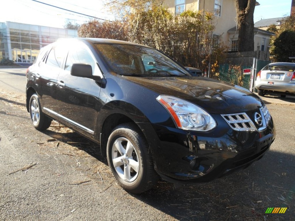 2012 black amethyst nissan rogue s special edition awd 88284153 photo 11 car. Black Bedroom Furniture Sets. Home Design Ideas