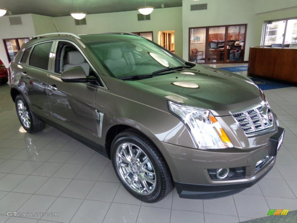 2014 Terra Mocha Metallic Cadillac Srx Performance 88283812 Car Color Galleries
