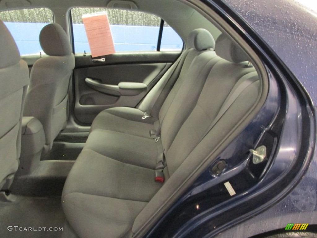 2007 honda accord value package sedan rear seat photo 88298763. Black Bedroom Furniture Sets. Home Design Ideas