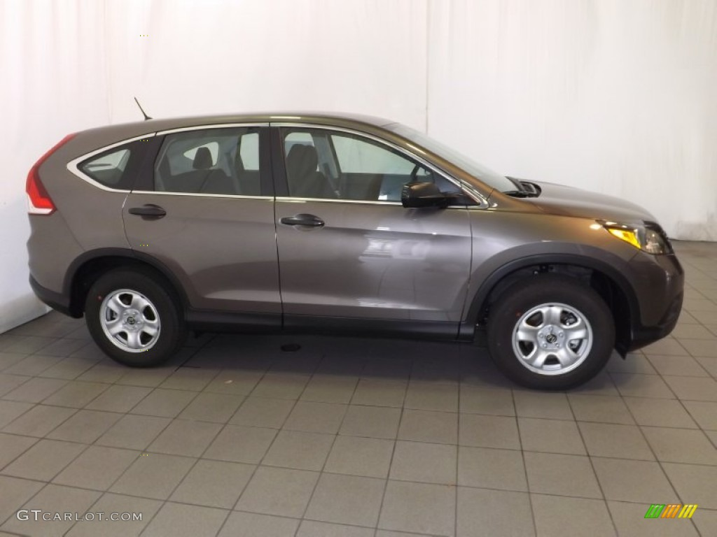 2014 CR-V LX - Urban Titanium Metallic / Black photo #5