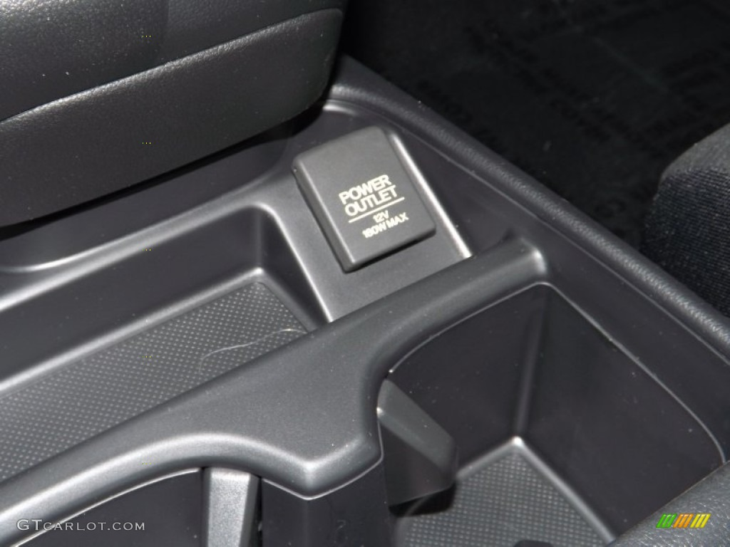 2014 CR-V LX - Urban Titanium Metallic / Black photo #19