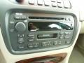 2002 Cadillac DeVille Neutral Shale Interior Audio System Photo