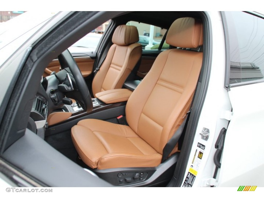 Saddle Brown Interior 2013 Bmw X6 Xdrive35i Photo