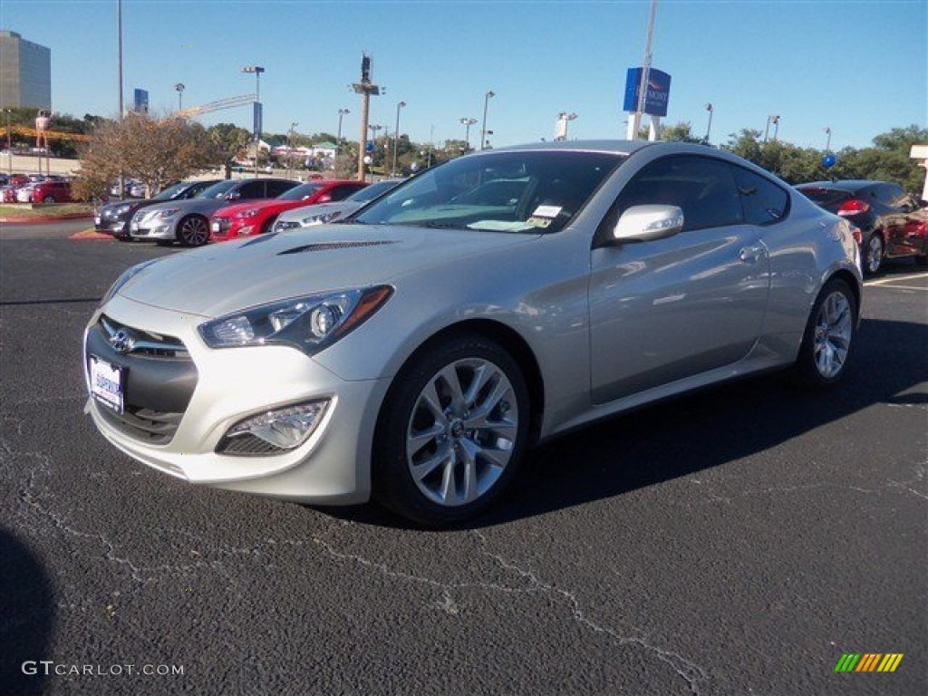 2013 Genesis Coupe 3.8 Grand Touring - Platinum Metallic / Tan Leather photo #1