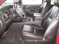 Ebony Front Seat Photo for 2011 Chevrolet Silverado 1500 #88317035