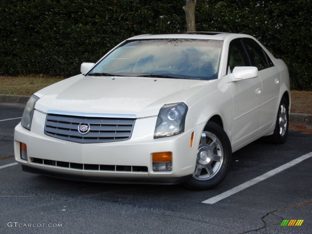 white diamond 2004 cadillac cts sedan exterior photo. Black Bedroom Furniture Sets. Home Design Ideas