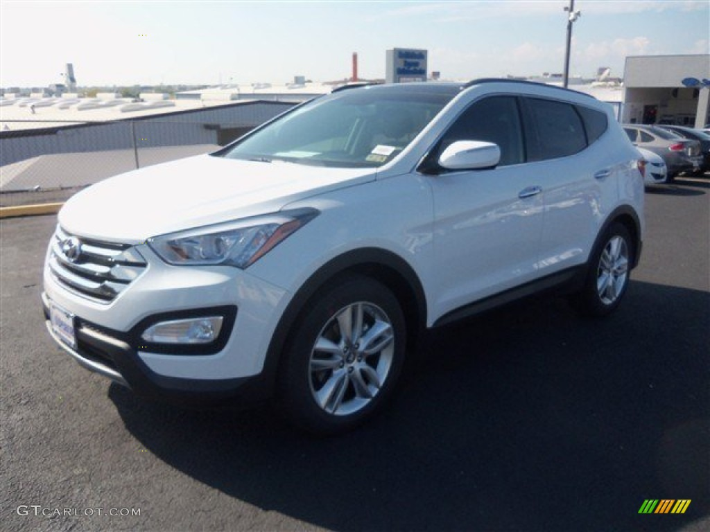 2014 frost white pearl hyundai santa fe sport 2 0t fwd. Black Bedroom Furniture Sets. Home Design Ideas